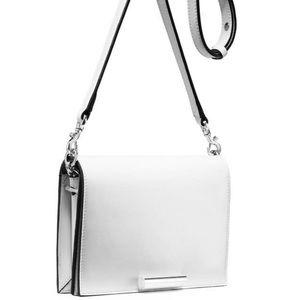 Stuart weitzman White April bag - brand new